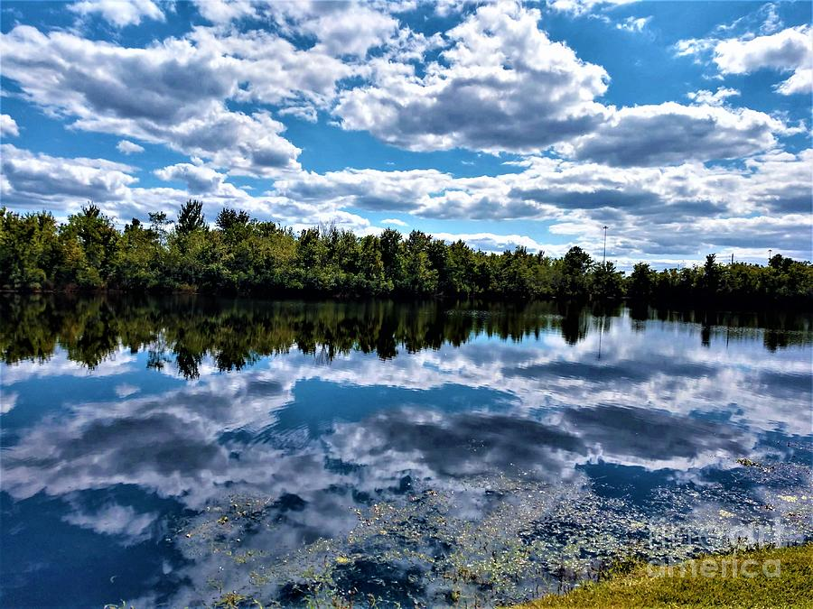 Cloud Reflections by Jimmy Clark