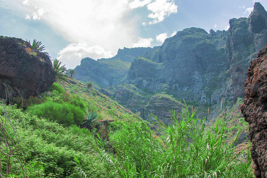Cloud strip over the Masca gorge by Sun Travels