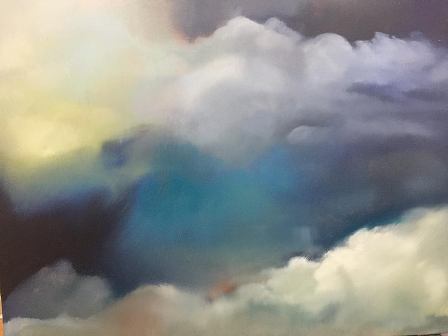 Through the Plane Window 1 by Deborah Munday