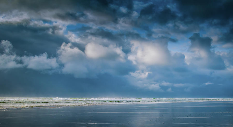 Clouds and Sea by Don Schwartz