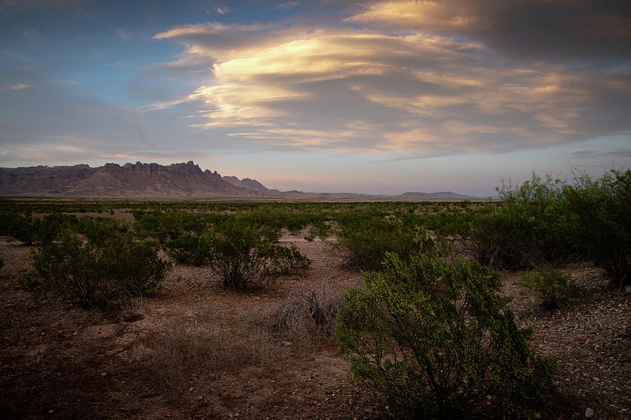 Clouds Big Bend National Park by Dean Ginther