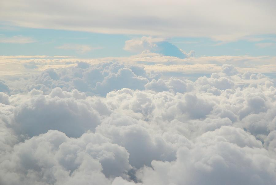 Clouds Photograph by Cranjam