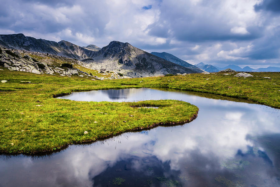 Clouds In the Lake by Evgeni Dinev