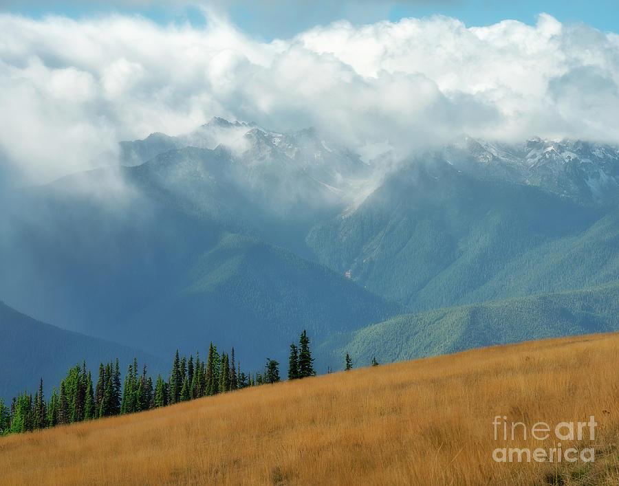 Clouds over Hurricane Ridge by Izet Kapetanovic