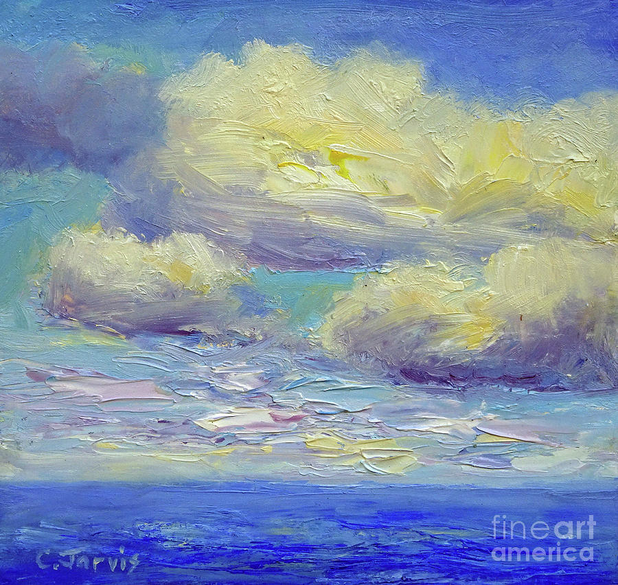 Clouds Over Ocean by Carolyn Jarvis