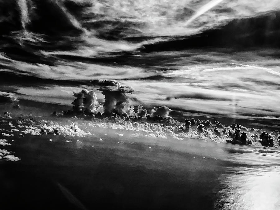 Clouds Over Sea by Paul Croll