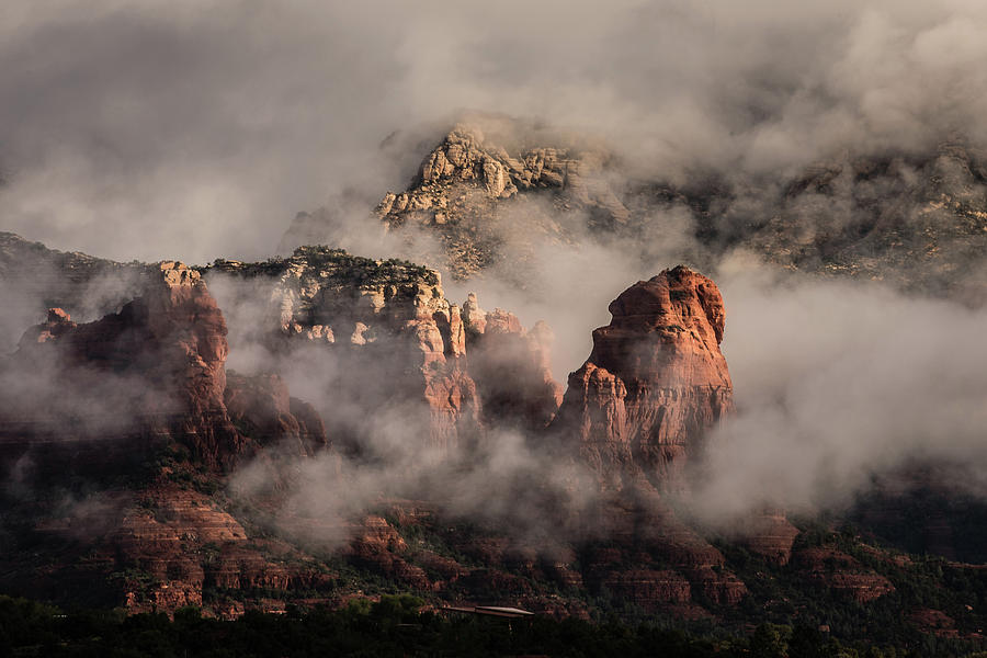 Clouds over Sedona 2 by William Christiansen