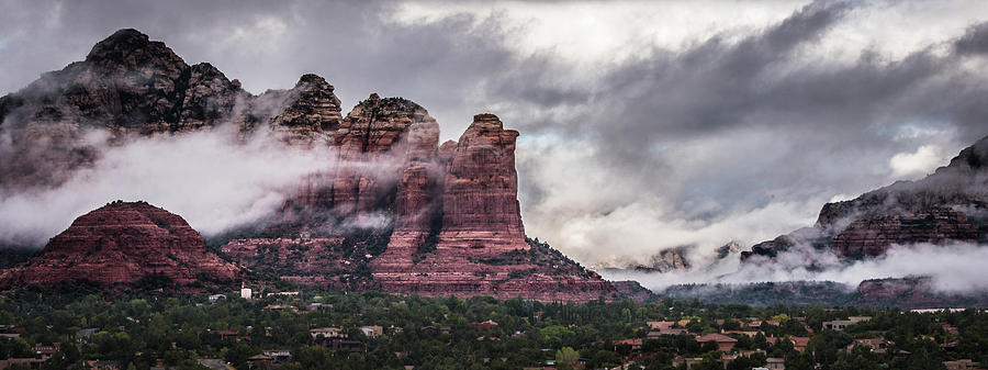 Clouds over Sedona by William Christiansen