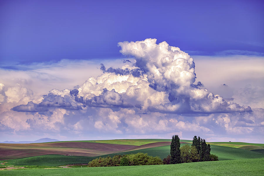 Clouds Over The Hills by Rick Berk