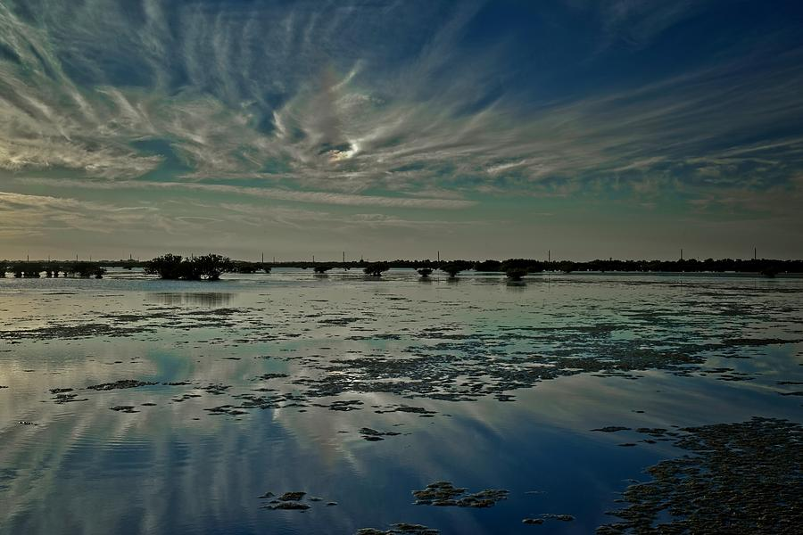 Clouds Over the Salt Marsh by Roy Thoman