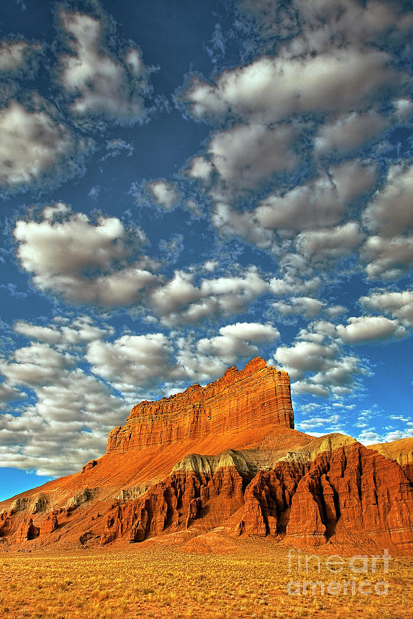 clouds wild horse butte goblin valley utah by Dave Welling