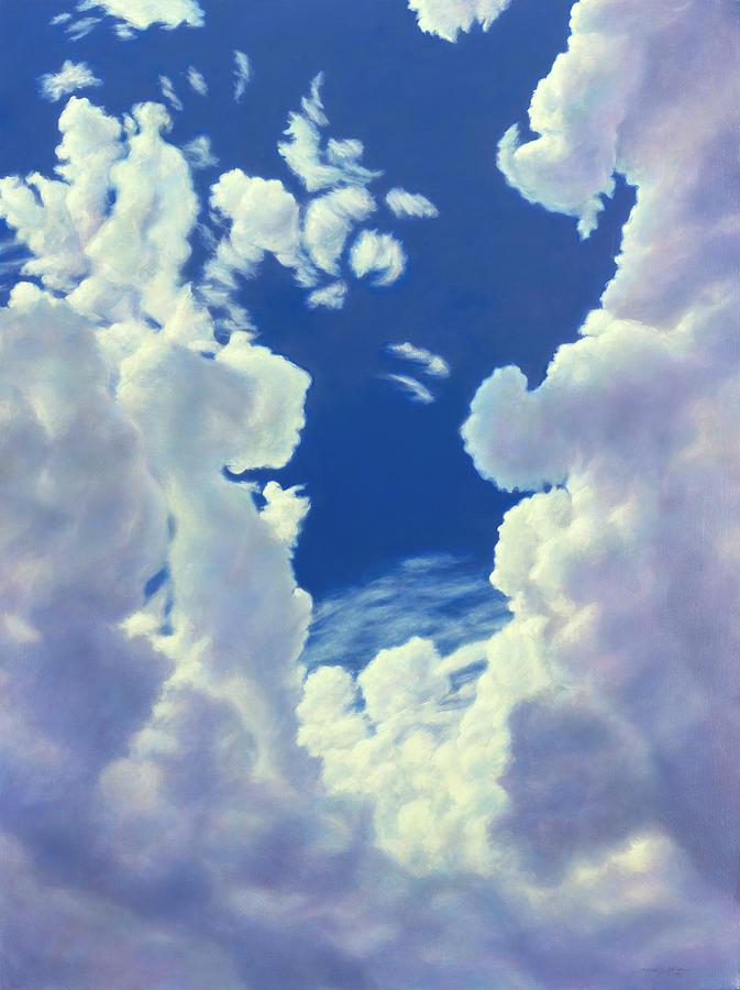Cloudscape - 8-27-18 by James W Johnson