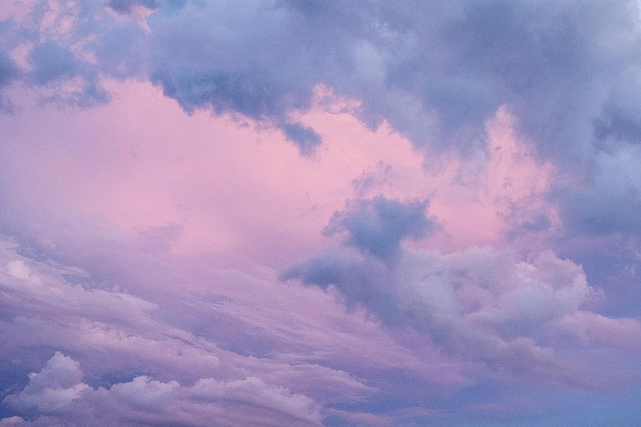 Pink Photograph - Cloudscape by Kathleen Gauthier