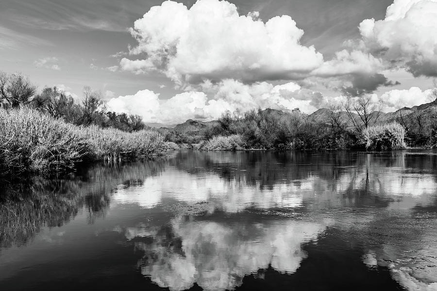 Cloudy Day at the Verde River by Juliana Swenson