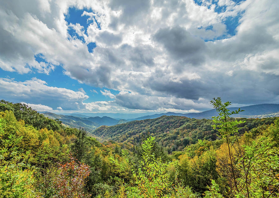 Cloudy Day in the Smokies by Peggy Blackwell