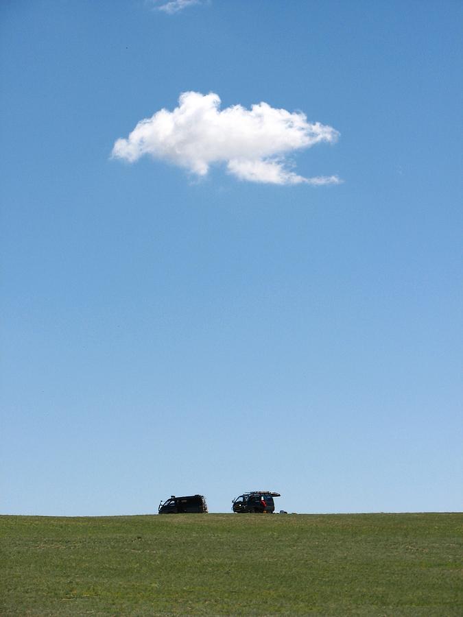 Cloudy Photograph by Wilhelm Bénard
