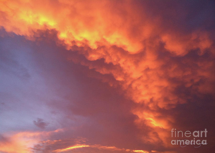 Cloudy With A Chance Of Fire by Curtis Sikes