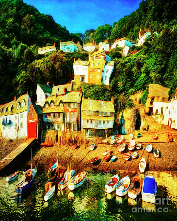 Clovelly by Edmund Nagele