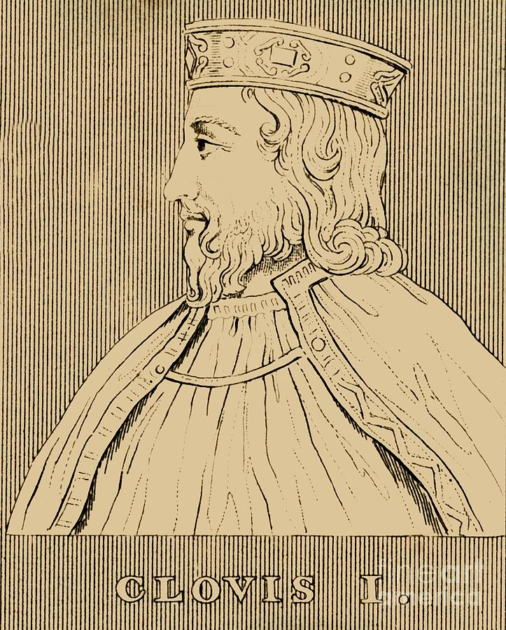 Clovis Drawing by Print Collector