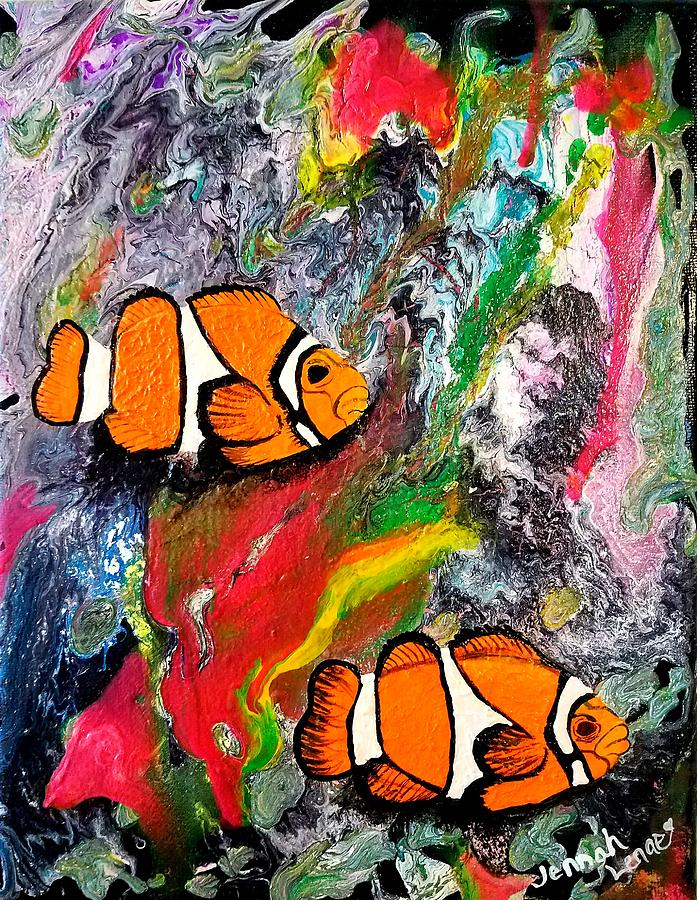 Clown Fish  by Jennah Lenae