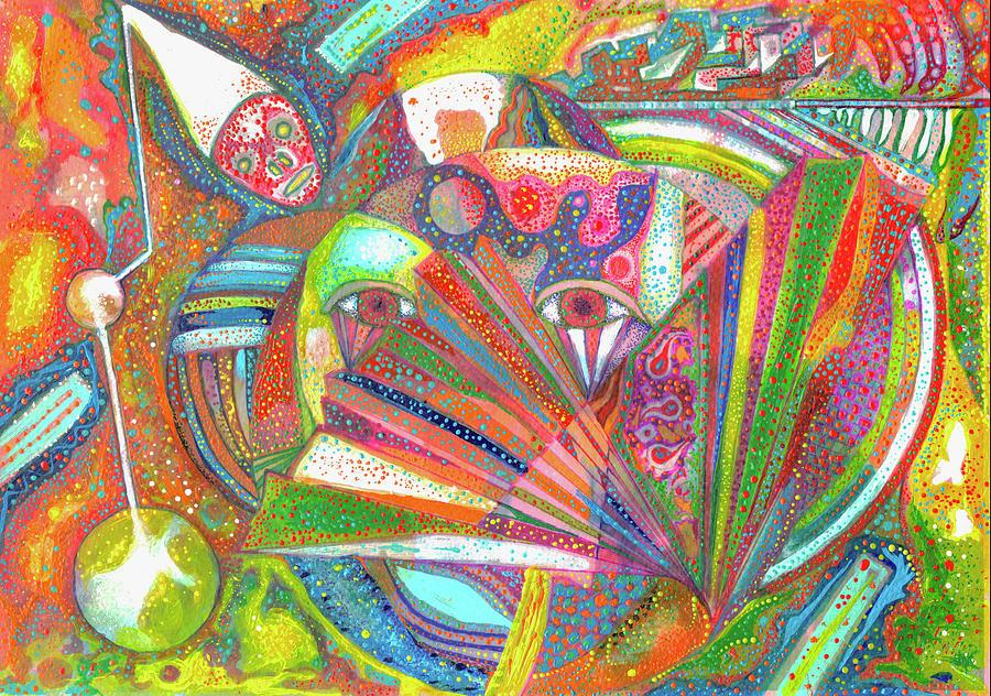 Clown Machine Abstract