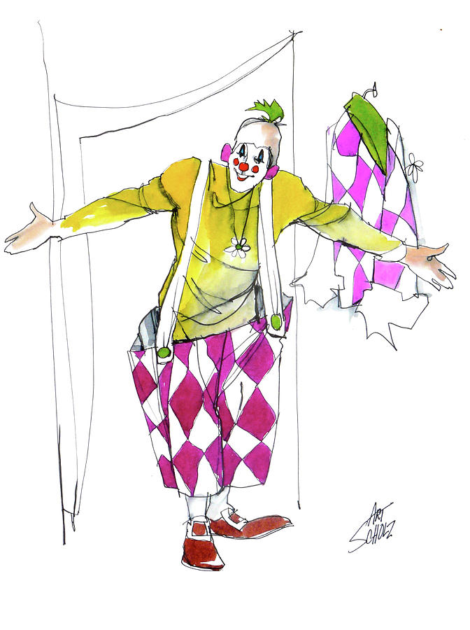 Clown Welcome by Art Scholz