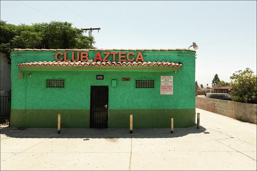 Club Azteca, Route 66, Fontana by Andy Romanoff