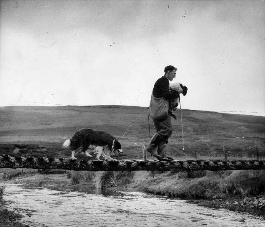 Rescue Photograph - Clyde Rescue by Bert Hardy