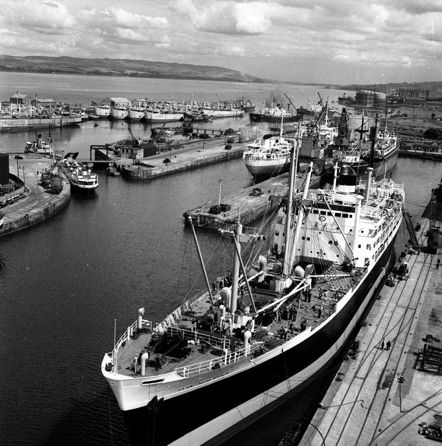 Clydeside Port Photograph by Bert Hardy