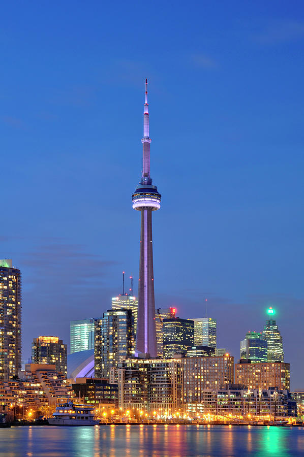 Cn Tower Photograph - Cn Tower by Marcus Jules