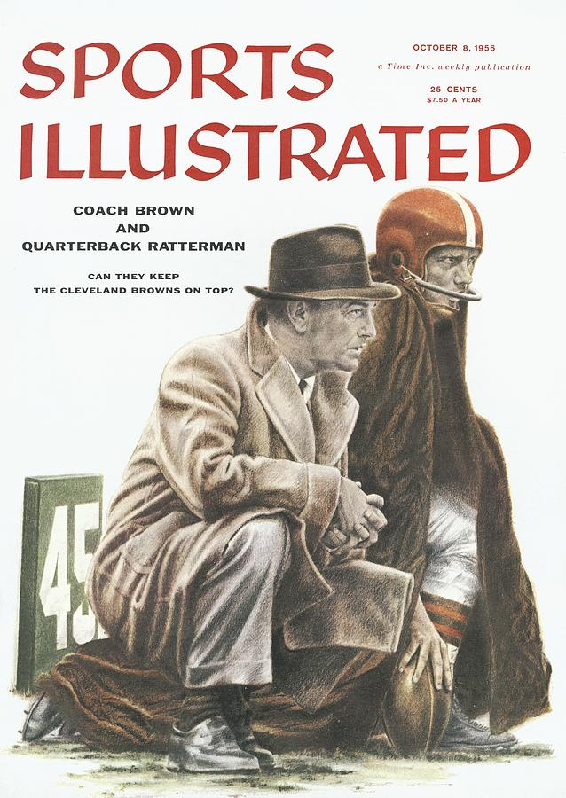 Coach Brown And Quarterback Ratterman Can They Keep Sports Illustrated Cover Photograph by Sports Illustrated