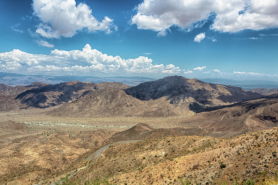Coachella Valley Vista Point by Alison Frank