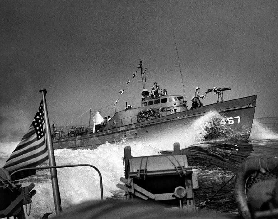 Coast Guard Convoy Patrols by Underwood Archives
