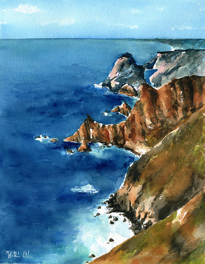 Coast of Portugal by Dora Hathazi Mendes