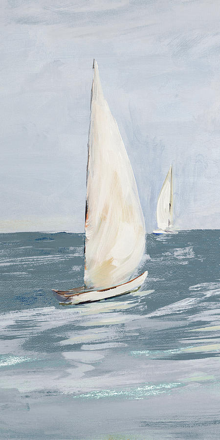Coast Painting - Coast Sailing II by South Social D