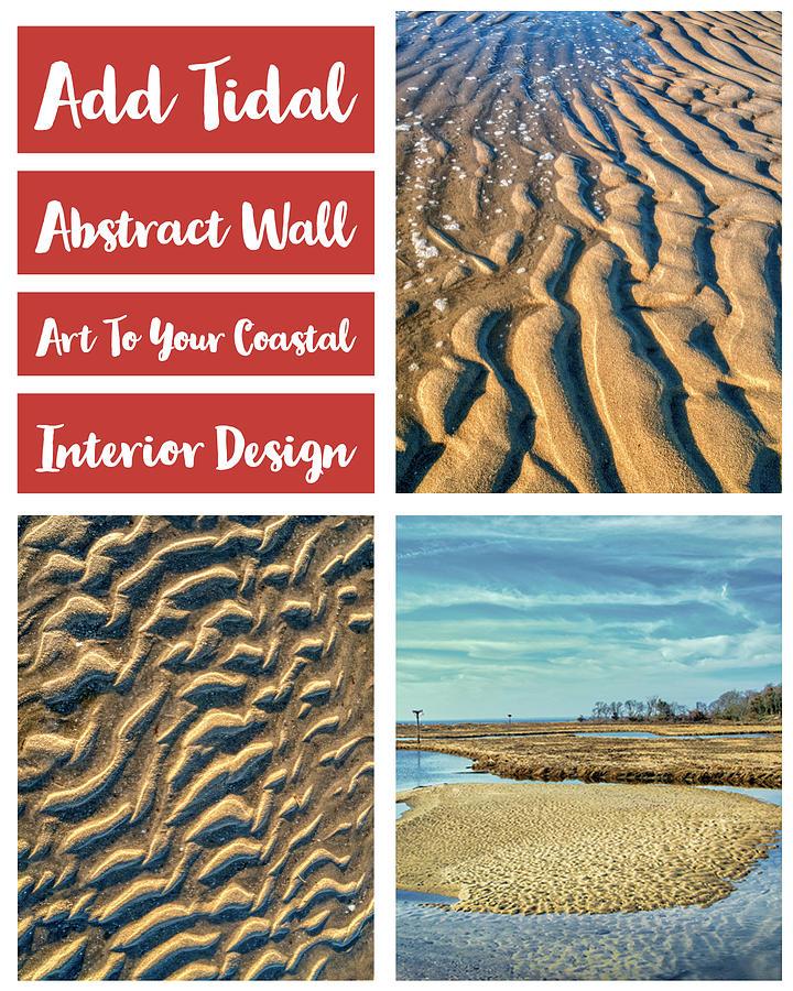 Coastal Abtracts For Interior Decor by Gary Slawsky