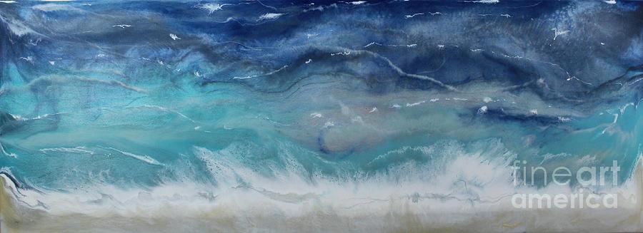 Coastal Breeze Painting by Kelly Gowan