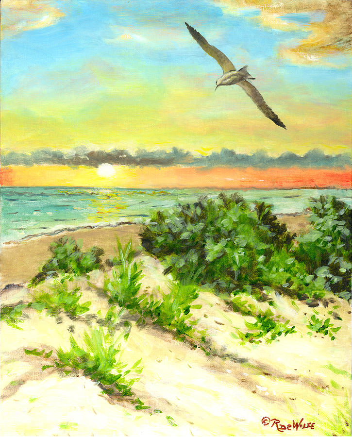 Coastal Breeze by Richard De Wolfe