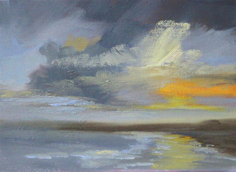 Coastal Clouds by Nancy Merkle