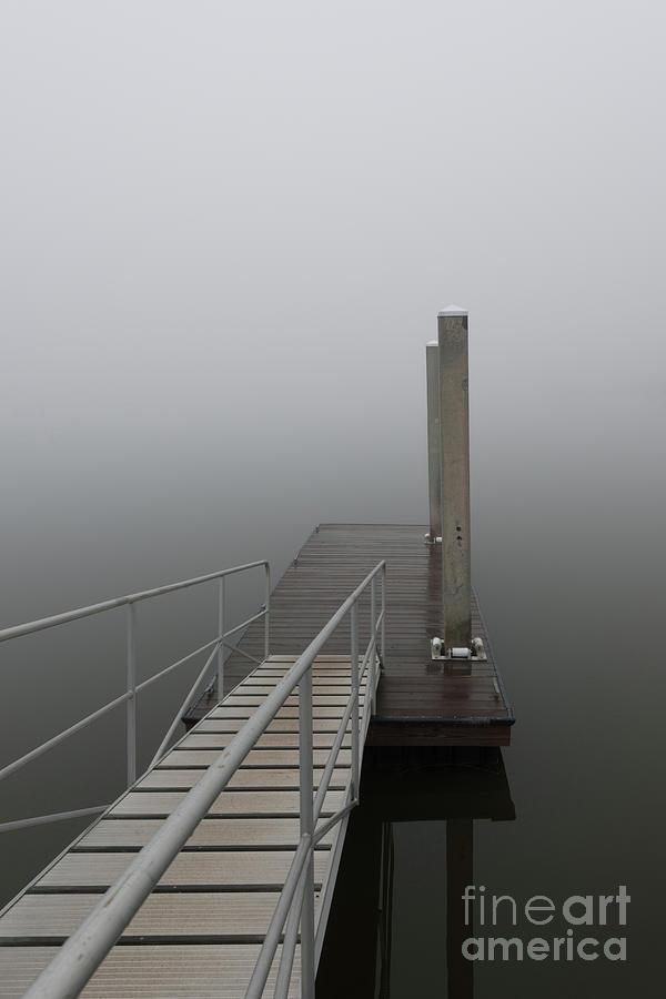 Coastal Fog Of November Photograph
