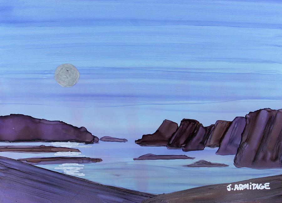 Coastal Moon by Jenny Armitage