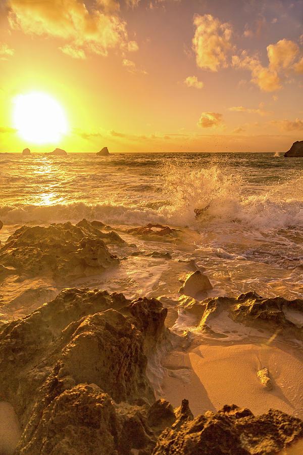 Sunrise Photograph - Coastal Sunrise Spectacular  by Betsy Knapp