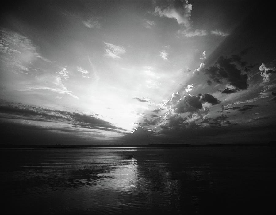 Coastal Sunset Photograph by Goldhafen