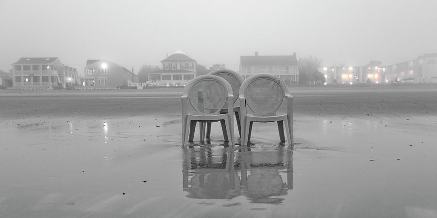 Old Photograph - Coastal Theater  by Betsy Knapp