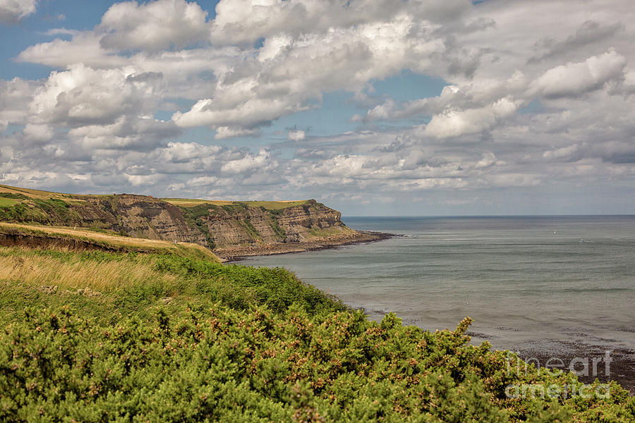 Coastal View In Yorkshire Photograph