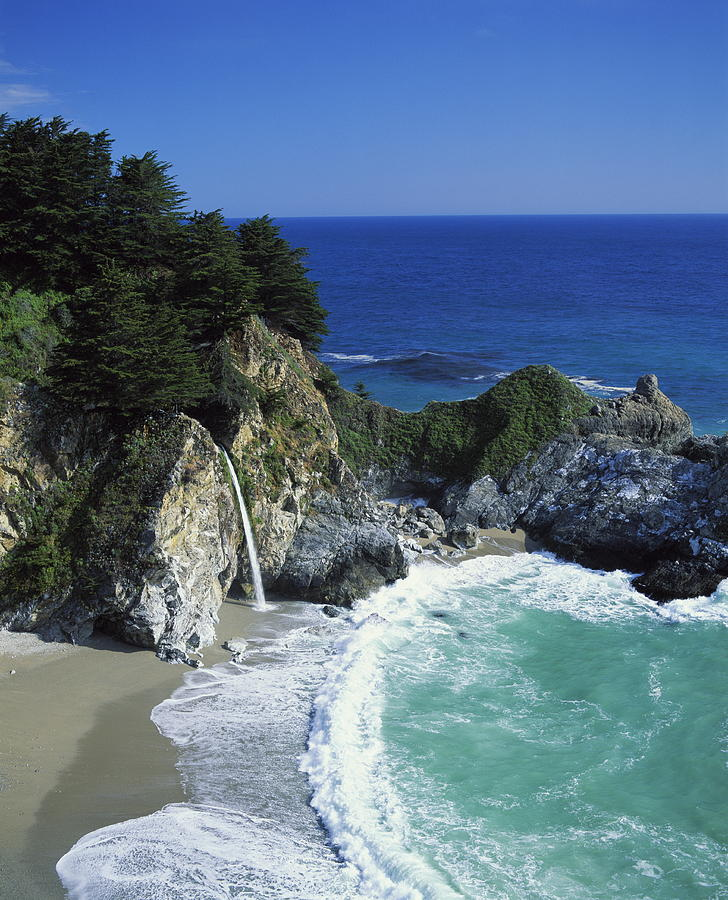 California Photograph - Coastline, Big Sur, California, Usa by Richard Price