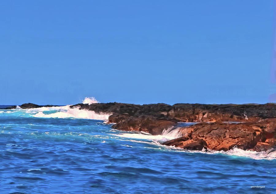 Coastline Kona by Tom Prendergast