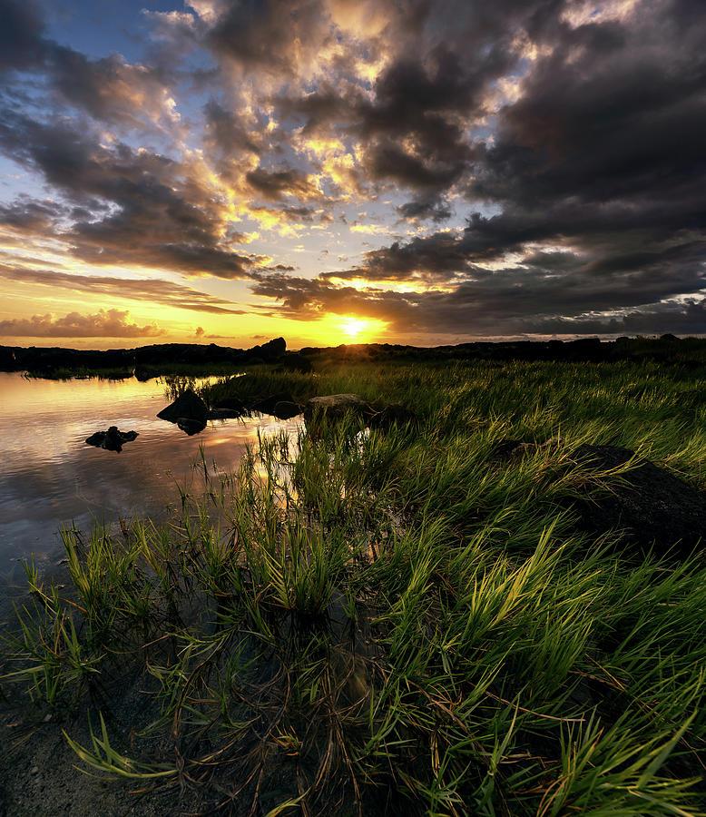 Coastline Reflection by Christopher Johnson