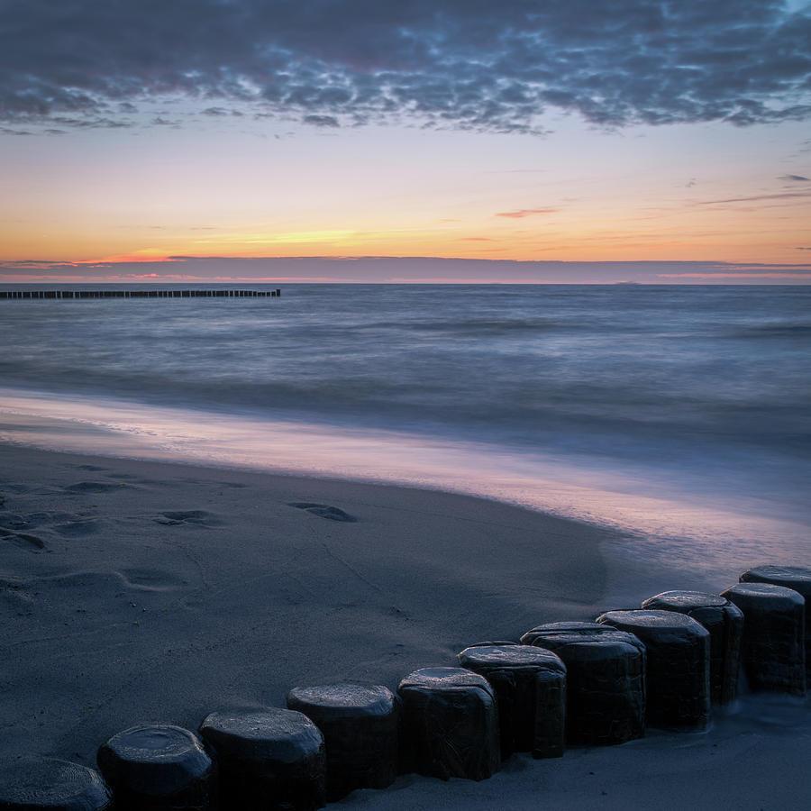 Sunset Photograph - Coastline Sunset by Toby Luxberg