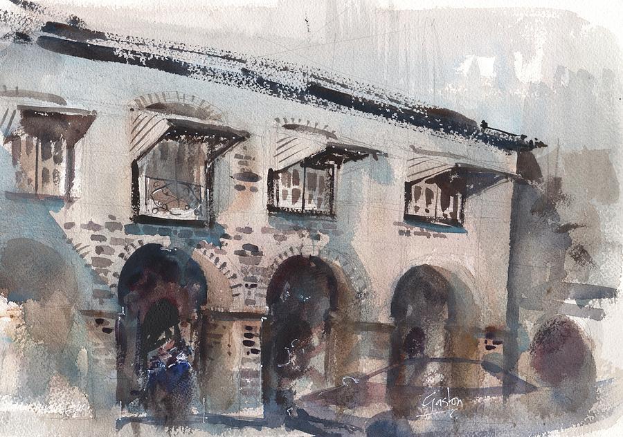 Cobblestone Inn by Gaston McKenzie
